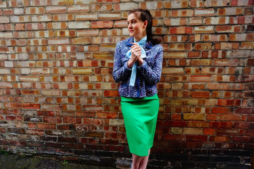 vintage girl, vintage style, vintage in norwich, boho girl, 80s outfit